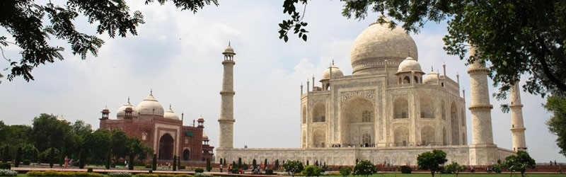 Taj Mahal - Agra - Iniden