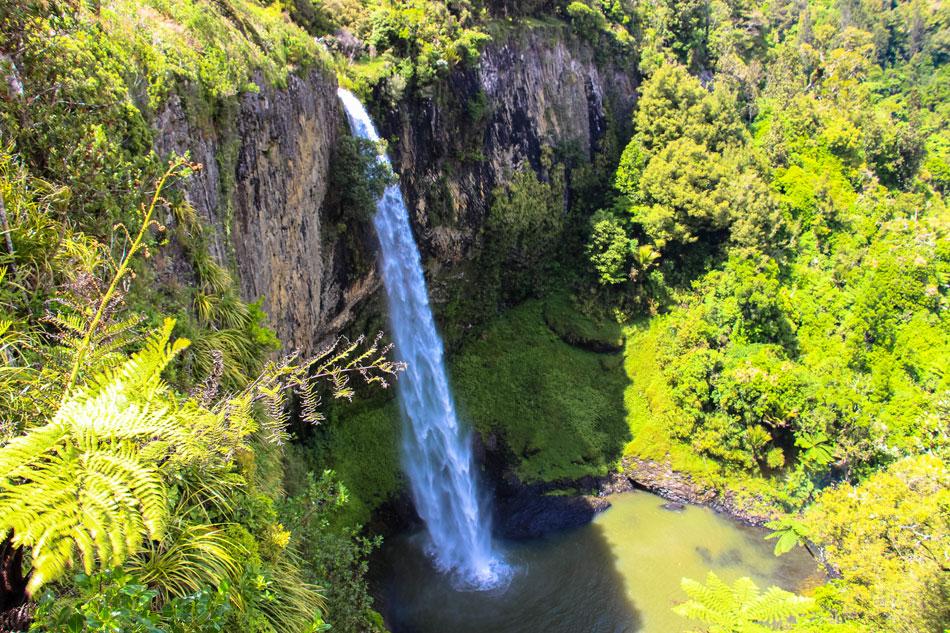 Bridal Veil Falls - Neuseeland