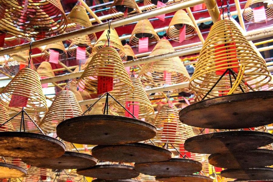 Man Mo Tempel - Hong Kong