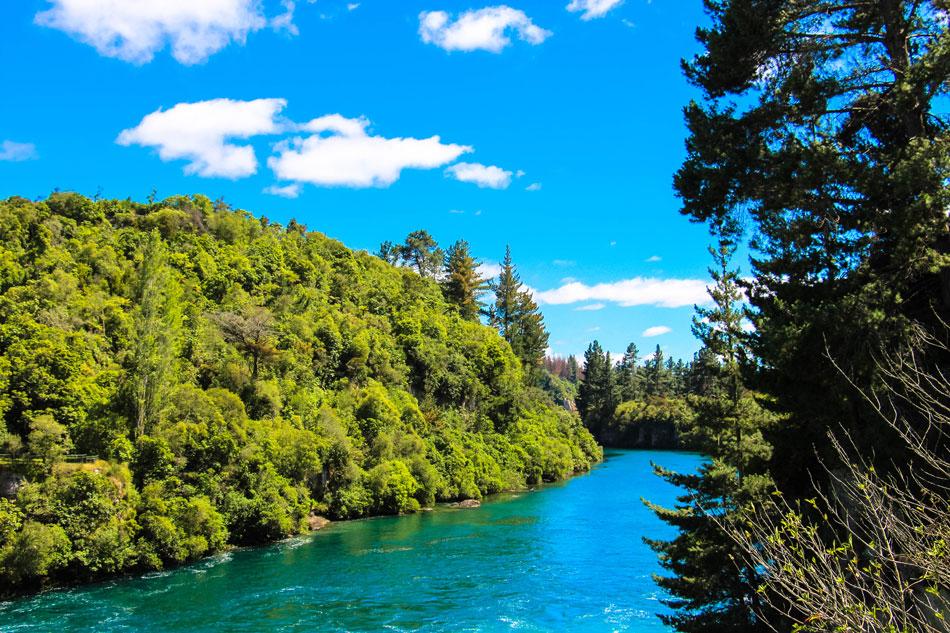 Huka Falls - Neuseeland