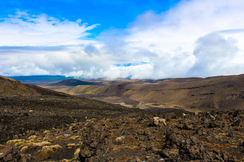 Tongariro Alpine Crossing - Neuseeland