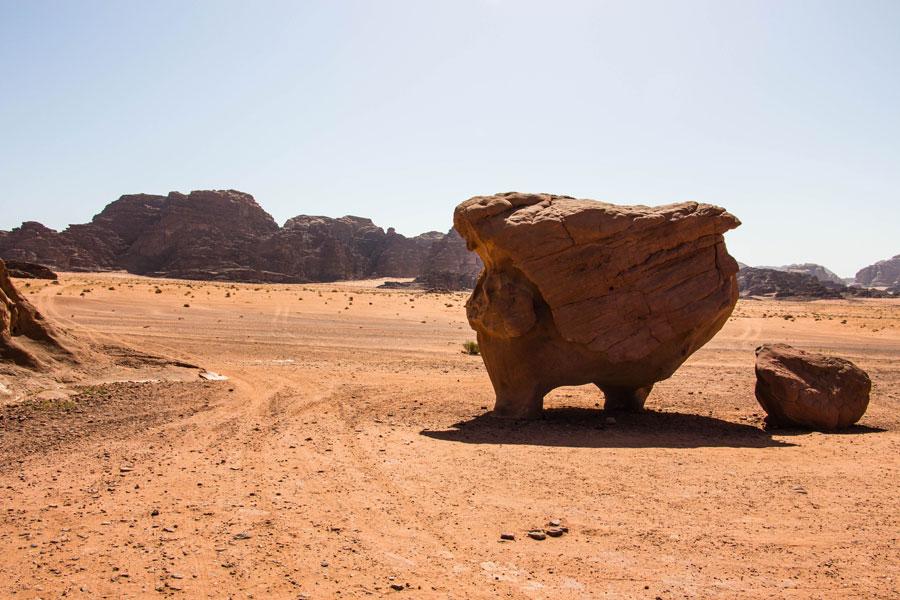 Wadi Rum - Jordanien