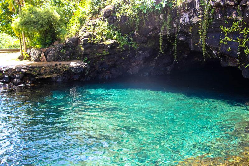 Pilaster Cave Pools - Samoa