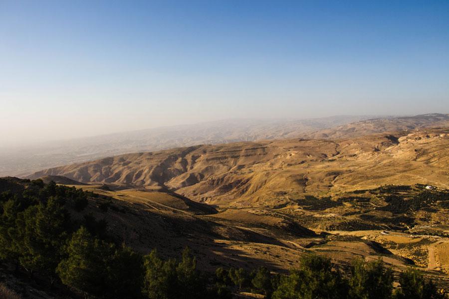 Mount Nebo - Jordanien