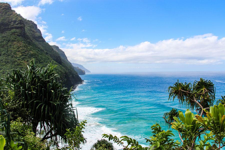 Na Pali Coast State Park - Kauai - Hawaii