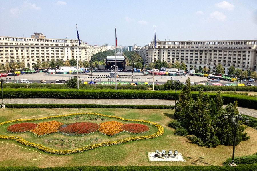 Aussicht Parlamentsgebäude - Bukarest - Rumänien - Ipackedmybackpack.de Reiseblog