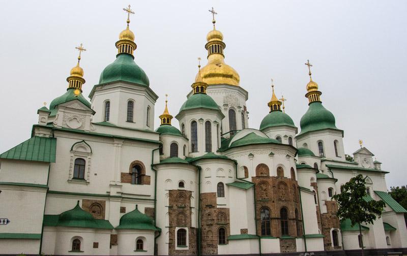 Sophienkathedrale - Kiew – Reiseblog Ipackedmybackpack.de